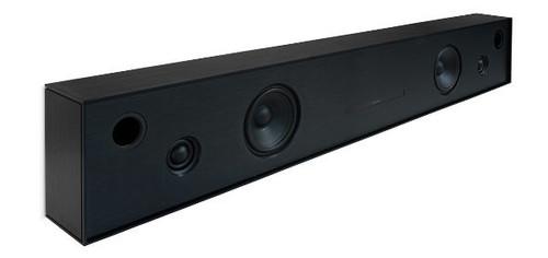 Aalto D4 - active stereo network speaker - brushed black