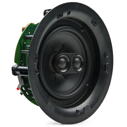 "Cielo C6 Ceiling speaker 6,5"" Kevlar woofer, 1"" alu dome pivoting tweeter"