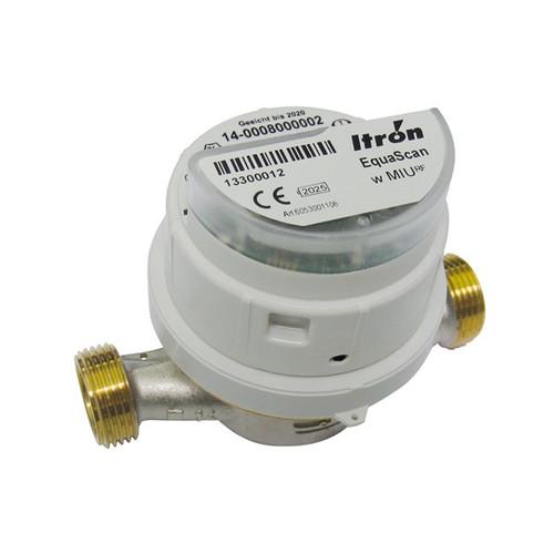 "Itron Unimag VVM with Equascan, WM-Bus G3/4"", Q3 2.5, DN15, 110 mm, TU4, 3V"