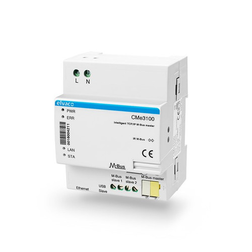 CMe3100 M-Bus Metering Gateway for Fixed Network 8 slaves