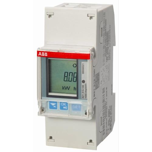 ABB KWh meter 1-phase Mbus B21 113-100