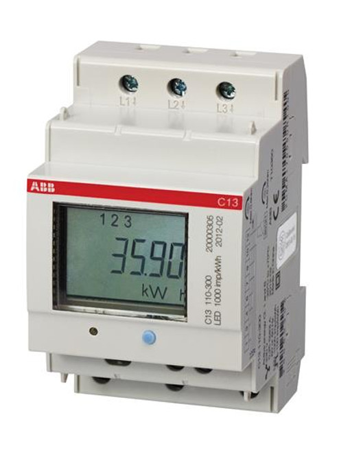 ABB KWh meter 3-phase B23  111-100