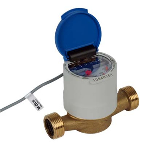GWF UNICOcoder Cold water meter MP Q3 2.5, G1B, DN20, L-130 mm with M-Bus