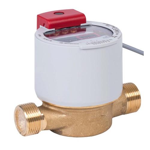 GWF UNICOcoder Warm water meter MP Q2.5, G1B, DN20, L-130 mm with M-Bus