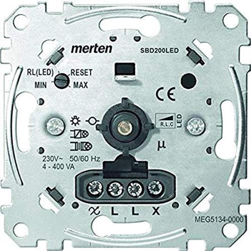 Universal dimmer for L ED Lamp, 4-400 W/VA