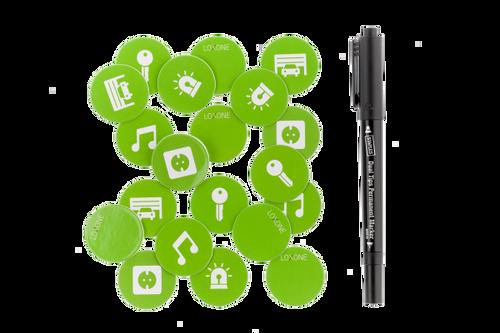 NFC Smart Tags (25 Stk.)