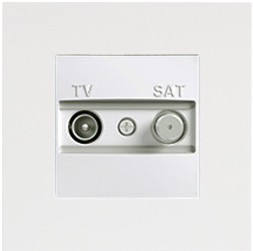 ASF WHITE TV-SAT WITHOUT FRAME