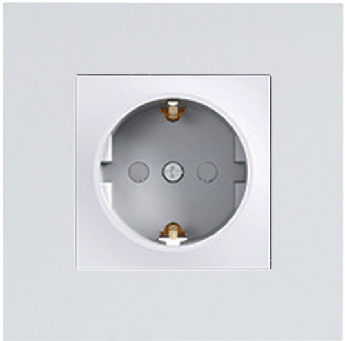 ASF GRAY CHILD-PROOF SOCKET WITHOUT FRAME