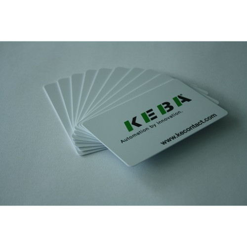 RFID cards - Keba design - 10 pcs (not discountable) / 96,089
