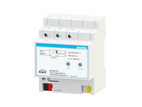 Bus power supply 640 mA with auxiliary output 30 Vdc