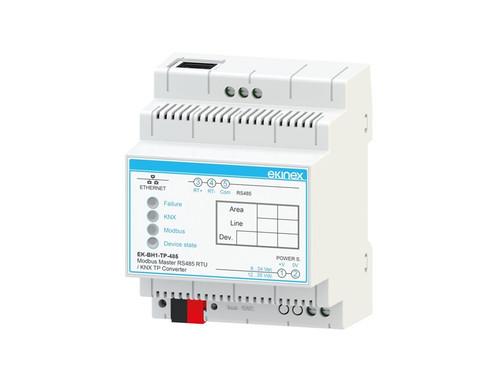 Gateway Modbus RS485 master RTU - KNX TP -
