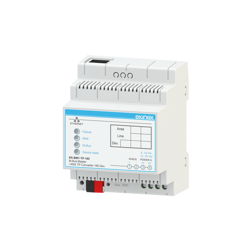 Gateway M-Bus Master - KNX TP - 80 devices