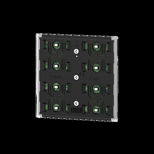 Pushbutton 4-fold, 'NF Basic version, white housing