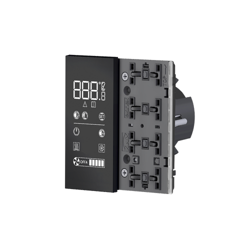 Easy room temperature controller ER2, 'NF version, white housing - blue/green LED