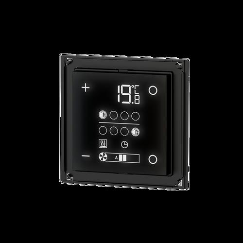 E72 room temperature controller, 'NF version, white housing