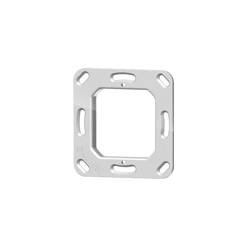 Square mounting support for 71 series devices and 4-fold pushbutton FF series (5 pcs.)