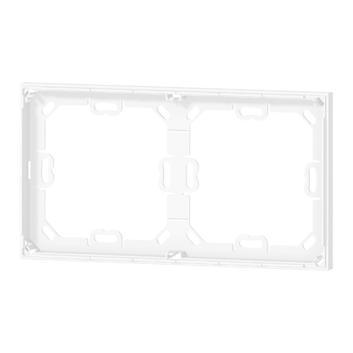 Package 5 pcs. white adapter for double 'NF plate