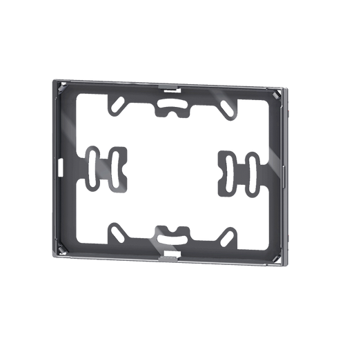 Package 1 pcs. black adapter for 'NF rectangular plate