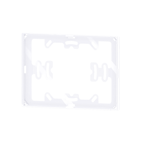 Package 1 pcs. white adapter for 'NF rectangular plate