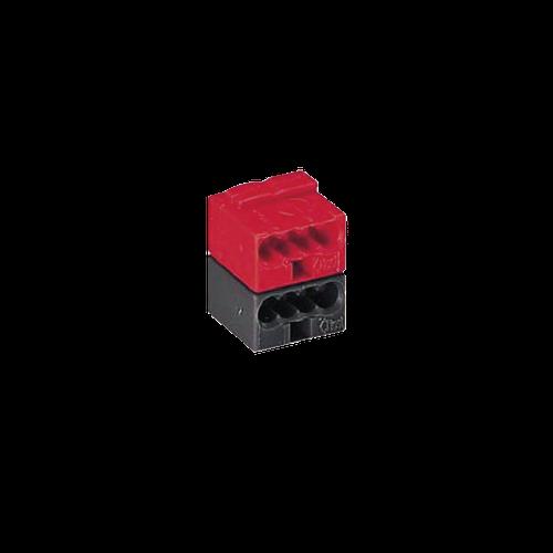 Terminal block black/red