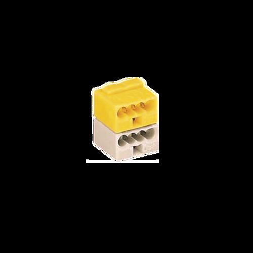 Terminal block white/yellow