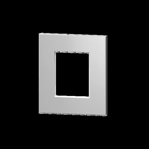 Square plastic plate 55x55 window