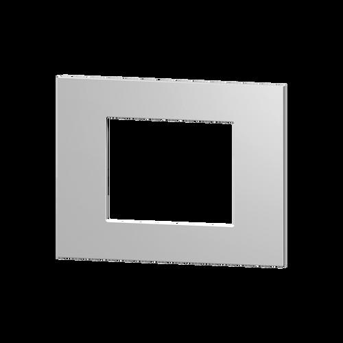 Rectangular plate plastic silver windows 68X45