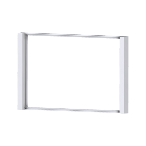 2-fold plastic frame Flank