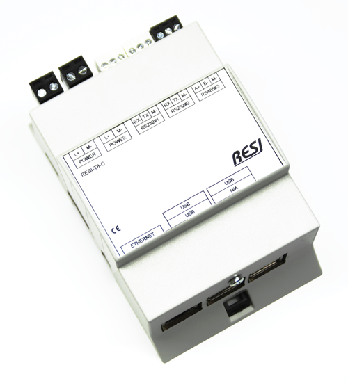 LINUX controller based on the Raspberry PI B3, 16GB SD card, Raspian LINUX preinstalled, serial interfaces: 2 xRS232 and 1xRS485, integrated realtime clock with battery backup,Power supply: 12-48V=