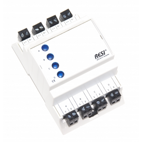 Signal module, DIN ISO16484, VDI 3814 manual operation interface, 4 LEDs in BLUE
