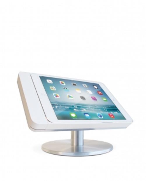 Eve mini 4 table base - landscape - satinised aluminium