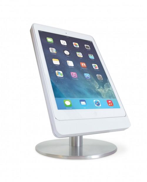 """Eve 9.7"""" table base - portrait - satinised aluminium"""
