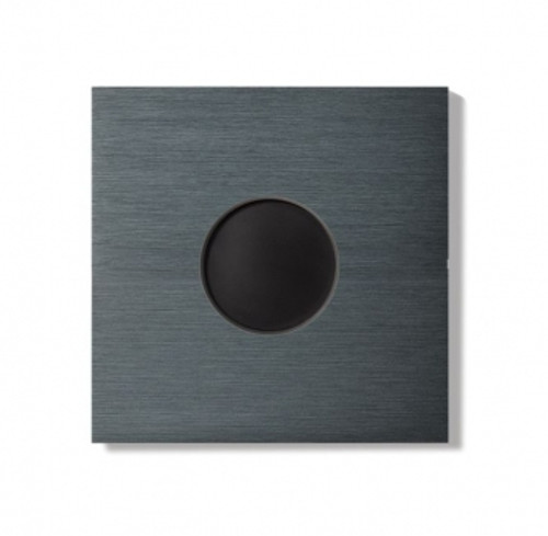 Auro wall cover - brushed dark grey