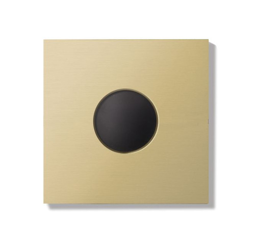Auro wall cover - brushed brass