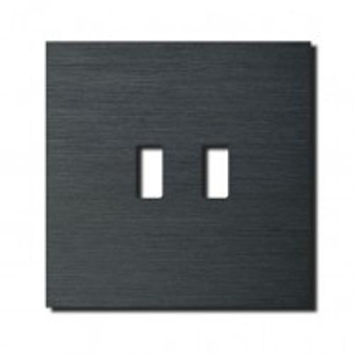 Socket - 1 gang - USB outlet - brushed dark grey