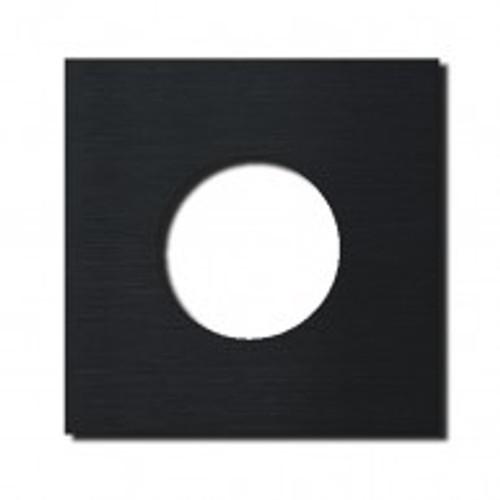 Socket - 1 gang - power outlet - brushed black