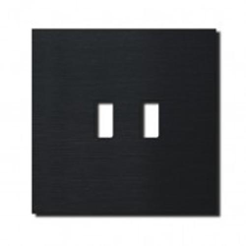 Socket - 1 gang - USB outlet - brushed black