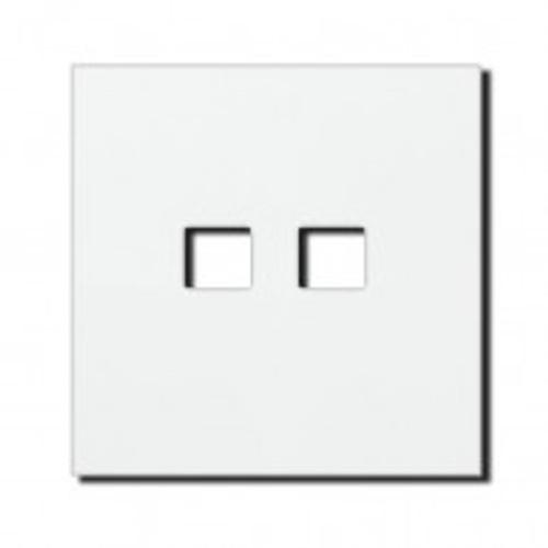 Socket - 1 gang - RJ45 outlet - satin white