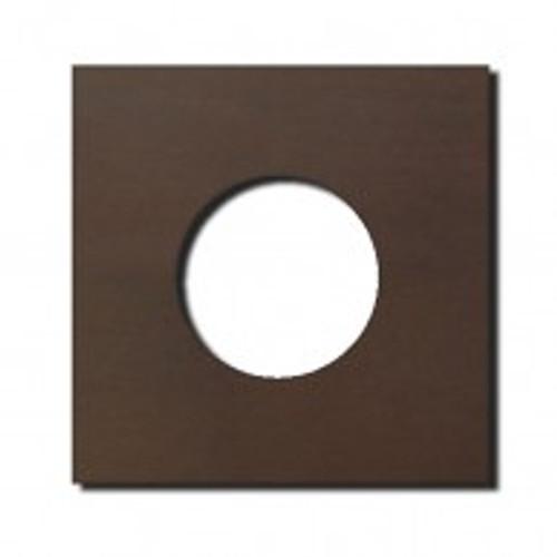 Socket - 1 gang - power outlet - bronze