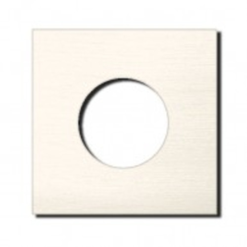 Socket - 1 gang - power outlet - brushed nickel