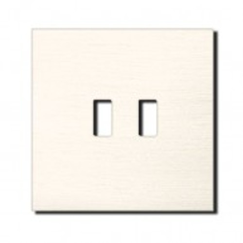 Socket - 1 gang - USB outlet - brushed nickel