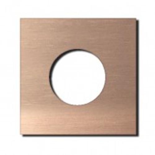 Socket - 1 gang - power outlet - soft copper