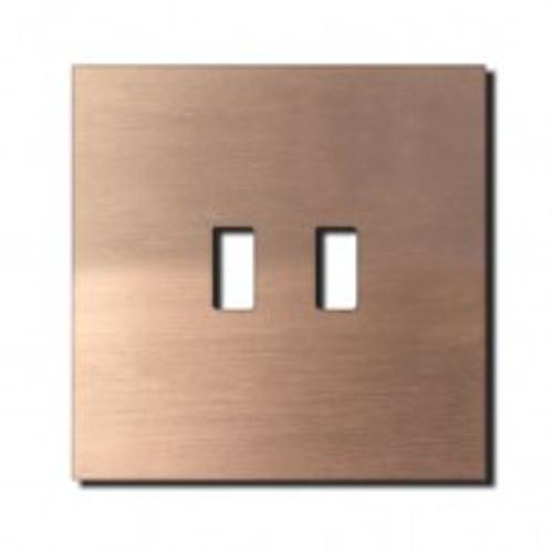 Socket - 1 gang - USB outlet - soft copper