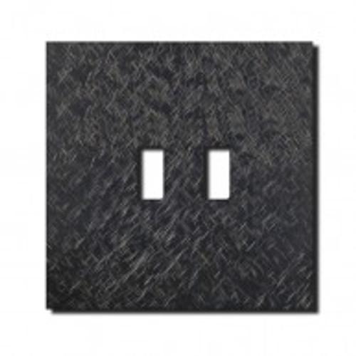 Socket - 1 gang - USB outlet - fer forgé gunmetal