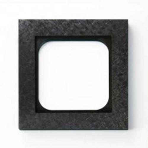 Frame - 1 gang - fer forgé gunmetal