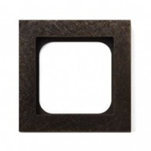 Frame - 1 gang - fer forgé bronze