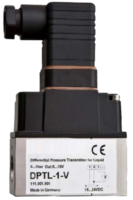 DPTL-4-V / Differential pressure transmitter