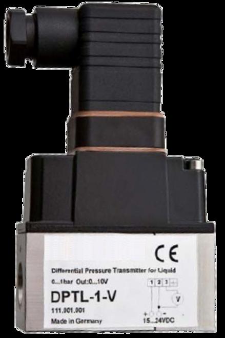 DPTL-6-V / Differential pressure transmitter