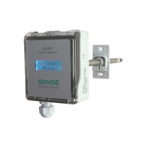 Air Velocity Transmitters SAV.2F0 / 20 m/s / 0-10V/4-20mA