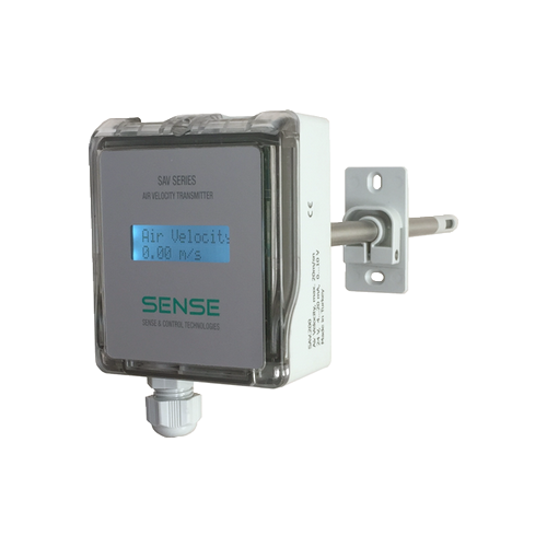 Air Velocity Transmitters SAV.2FF / 20 m/s / 0-10V/4-20mA
